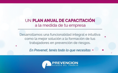 Plan Anual de Capacitación de Prevención Riesgos del Trabajo