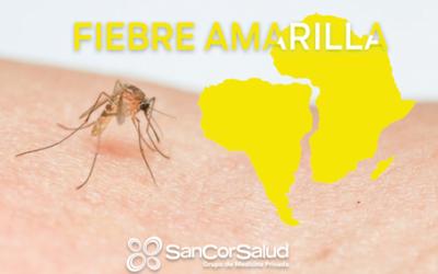 Concientización de SanCor Salud sobre fiebre amarilla