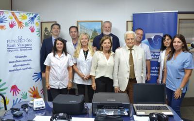 Donación de Seguros Rivadavia para el Hospital San Roque