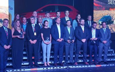 RUS en la premiación del Auto Más Seguro de 2018 según Cesvi