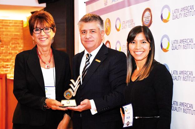 Premio para RUS por su gestión corporativa