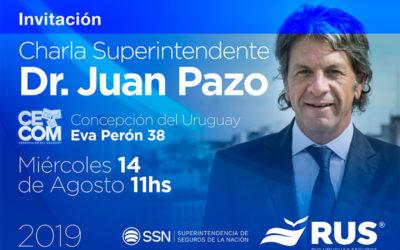 Charla de Juan Pazo en Concepción del Uruguay