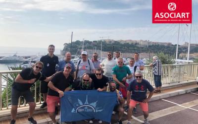 Los PAS de ASOCIART estuvieron a bordo de un crucero por el Mediterráneo