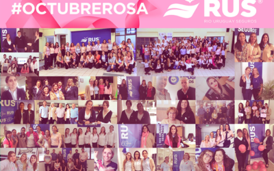 Río Uruguay Seguros se suma al mes de la lucha contra el cáncer de mama