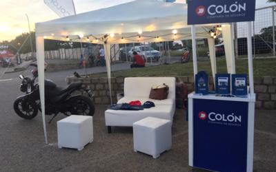 Colón estuvo presente en Expo Moto Gualeguaychú