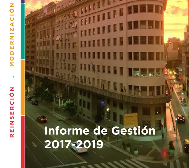La SSN presentó el Informe de Gestión 2017-2019