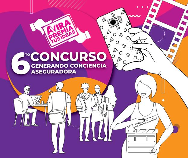 """AVIRA anuncia lanzamiento del 6to Concurso """"Generando Conciencia Aseguradora"""""""