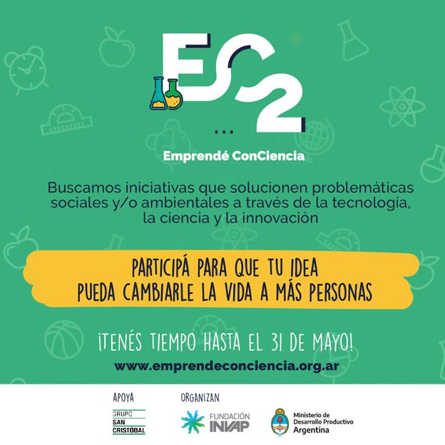 Se lanza la cuarta edición del Programa Emprendé ConCiencia con el apoyo de Grupo San Cristóbal