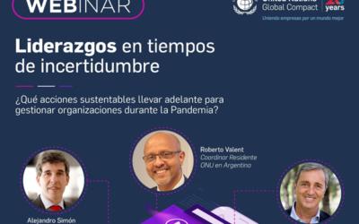 """Alejandro Simón participó de un webinar sobre """"Liderazgos en tiempo de incertidumbre"""""""