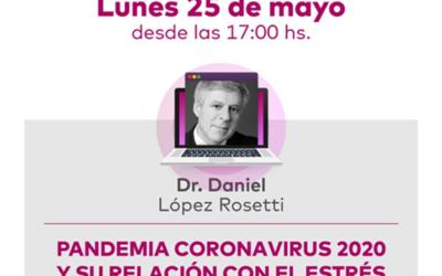 Los PAS de Sancor Seguros participarán de una charla virtual con el Dr. López Rosetti