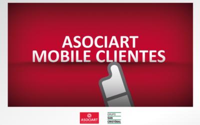 Nueva app Asociart Mobile Clientes
