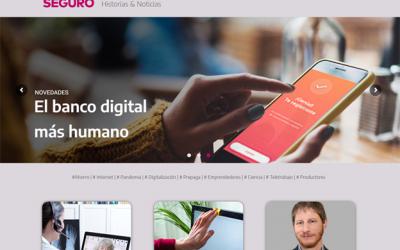 Sancor Seguros renovó su revista institucional, Mundo Seguro, con una propuesta 100% digital