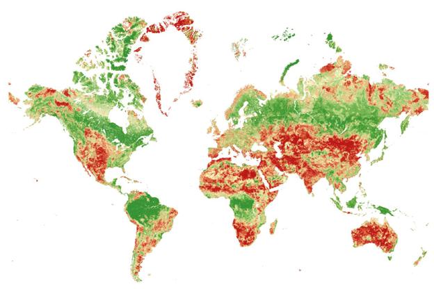 Una quinta parte de los países de todo el mundo en riesgo de colapso de los ecosistemas a medida que disminuye la biodiversidad, según el índice Swiss Re BES