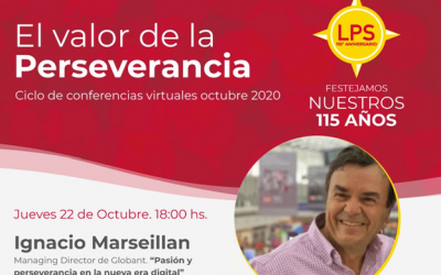 Ignacio Marseillan, Managing Director de Globant, hablará sobre pasión y perseverancia en la nueva era digital