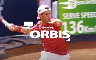 Primera campaña publicitaria de TV de Orbis Seguros con el Peque Schwartzman