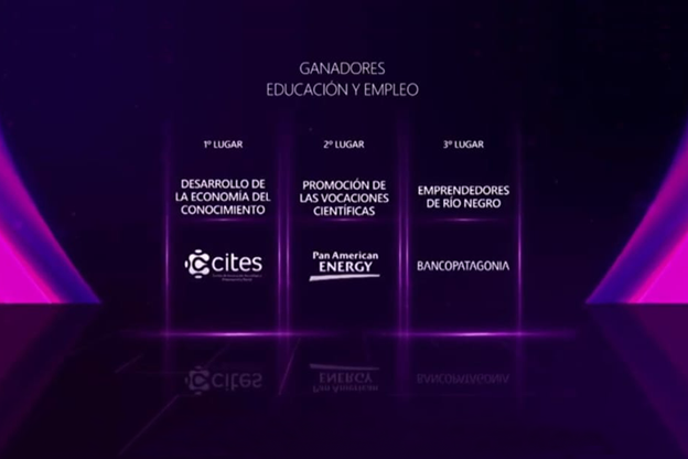 CITES fue premiado por su impulso al desarrollo de la economía del conocimiento (categoría Educación y Empleo)