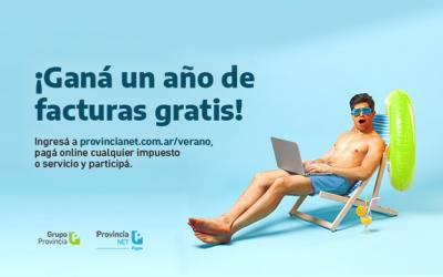 Provincia NET Pagos sortea un año de facturas gratis y descuentos semanales