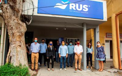 RUS y estacubierto.com inauguraron una oficina de seguros inclusivos en el Barrio Mugica