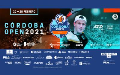 Sancor Seguros estará presente en el Córdoba Open 2021