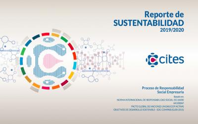 CITES comparte en un nuevo Reporte de Sustentabilidad, su gestión sustentable en contexto de crisis