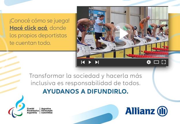 Allianz y Paradeportes se unen para difundir el deporte adaptado