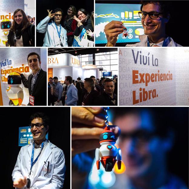 Experiencia memorable de LIBRA en Expoestrategas