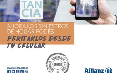 Allianz es la primera aseguradora de Argentina en ofrecer un servicio de peritación a distancia