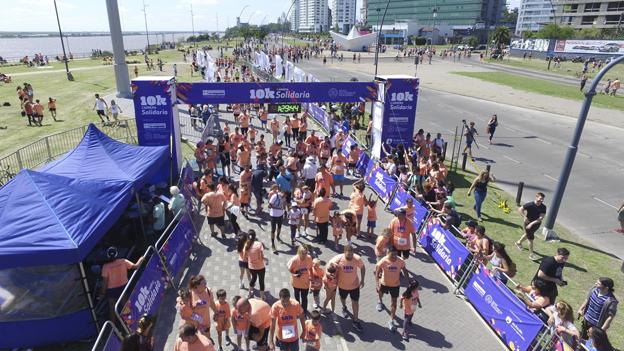 Más de 2000 personas sumaron su energía en una nueva Carrera Solidaria de La Segunda