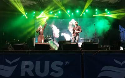 RUS festejó sus 60 años en su ciudad natal con shows musicales