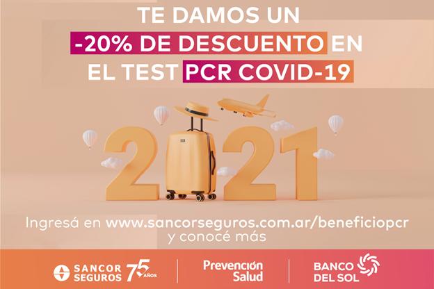 Tres empresas del Grupo Sancor Seguros se aliaron para brindar descuentos en test de coronavirus