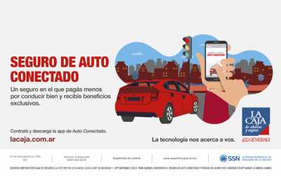 """La Caja lanza su nuevo seguro """"Auto Conectado"""""""