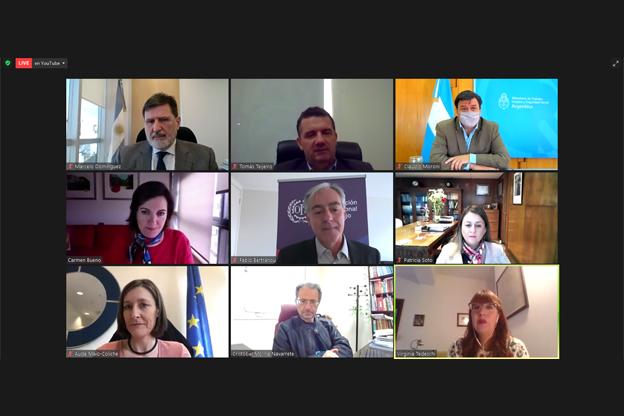 Webinario COVID-19: Las medidas de seguridad y salud en el trabajo, el papel del diálogo social