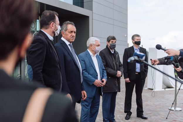 Grupo Sancor Seguros impulsó la visita de una comitiva encabezada por Daniel Scioli y empresarios argentinos