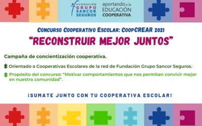 Lanzamiento del Concurso Cooperativo Escolar CoopCREAR 2021 de Fundación Grupo Sancor Seguros