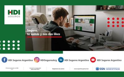 HDI Seguros suma canales de comunicación a través de sus Redes Sociales