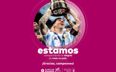 SANCOR SEGUROS, orgulloso Sponsor Oficial del Campeón de América