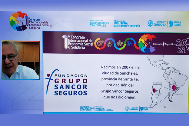 Fundación Grupo Sancor Seguros participó del 1° Congreso Internacional de Economía Social y Solidaria