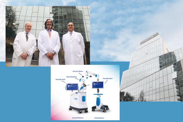 El Sanatorio de la Trinidad Palermo incorpora un robot para cirugía de cadera y rodilla