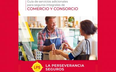La Perseverancia Seguros incorporó una guía de servicios adicionales en todas sus pólizas integrales de Comercio y Consorcio