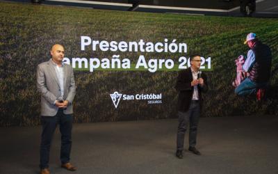 """San Cristóbal Seguros presentó su campaña """"Tranquilidad para que tu campo siga en movimiento"""""""