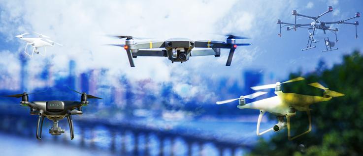 Utilización de drones en la industria aseguradora