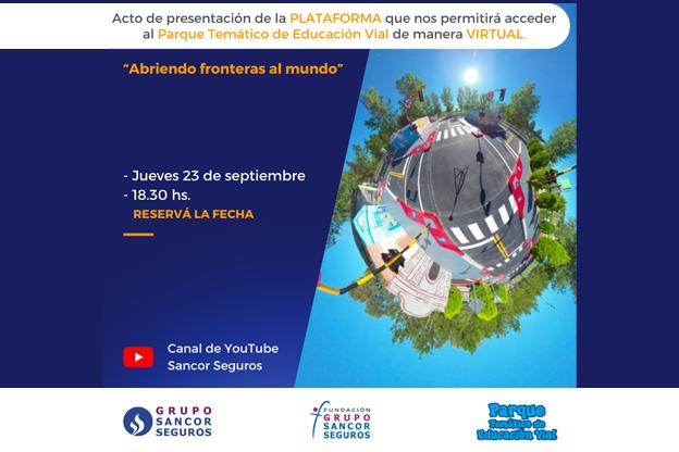 Parque Temático de Educación Vial -formato virtual- de Fundación Grupo Sancor Seguros