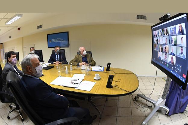 Se reunió el Comité Consultivo Permanente de la Ley de Riesgos del Trabajo