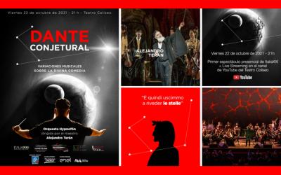 """La Caja acompaña """"Dante Conjetural"""", la celebración al poeta del Teatro Coliseo"""