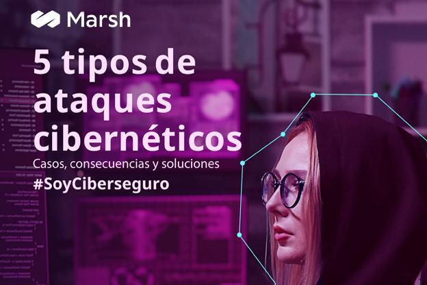 Los 5 Ciberataques actuales de más impacto según MARSH