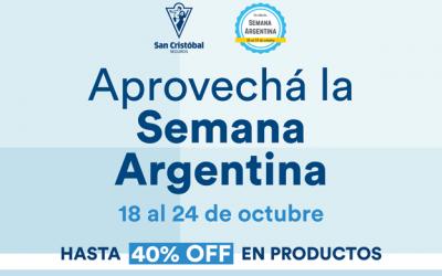 San Cristóbal Seguros presente en la Semana Argentina en Uruguay